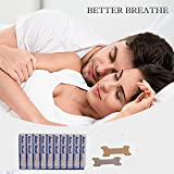 Micup Breathe Right Nasal Strips Anti-Snoring Better Breathe Snore Reducing Aids 200 Pcs(66mm*19mm)