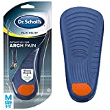 Dr. Scholl's ARCH Pain Relief Orthotics  (Men's 8-12, Women's 6-10) // Immediate and All-Day Relief from Arch Pain