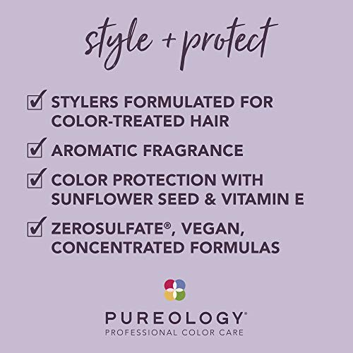 Pureology | Style + Protect On The Rise Root-Lifting Hair Mousse | Medium Control, All Day Volume | Vegan 3
