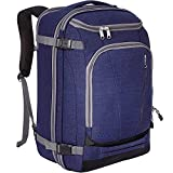 eBags TLS Mother Lode Weekender Convertible Carry-On Travel Backpack - Fits 19' Laptop - (Brushed Indigo)
