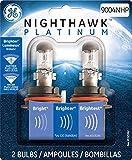 GE Lighting 9004NHP/BP2 Nighthawk Platinum Halogen Replacement Bulb, 2-Pack