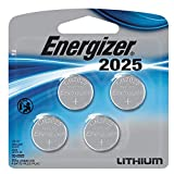 Energizer 2025 Lithium Coin Cell Battery (4Count)