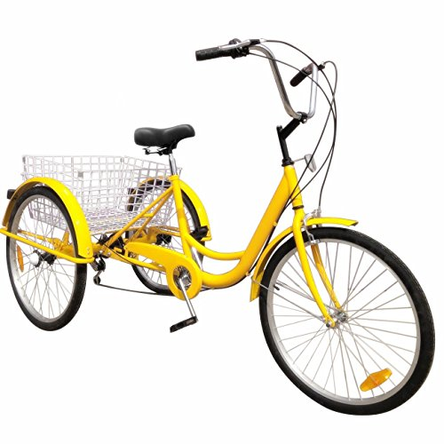 Happybuy 24 Inch Adult Tricycle Series...