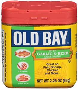 Old Bay Garlic and Herb Seasoning, 2.62 oz: Amazon.es