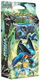 Pokémon 97712542355 TCG: Hydro Fury Theme Deck, Water & Ground Power, Collectible Trading Card Set, 60 Card Deck Featuring Swampert, Damage Counters, Metallic Coin, 1 Deck Box, Online Code Card