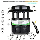RockBirds Mosquito Killer Lamp and Bug Zapper, Indoor Fly Trap, Control with Stand LED Light Mosquitoes, Wasps, Etc. - Perfect for Patio, Gardens, etc.
