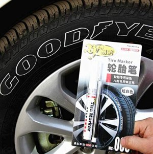 Waterproof Permanent oil based Paint Markers Car Tyre Tire Tread Rubber