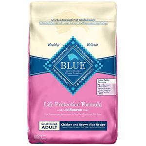 Blue Buffalo Life Protection Formula Natural Adult Small Breed Dry Dog Food 6