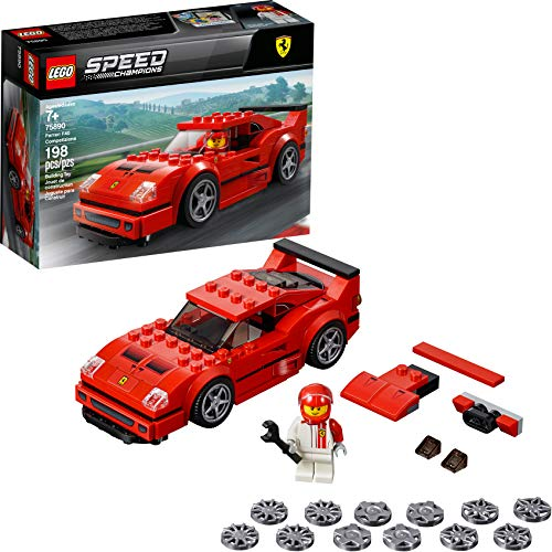 LEGO Speed Champions Ferrari F40 Competizione 75890 Building Kit, 2019 (198 Pieces)