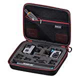 Smatree Carrying Case for GoPro Hero 6/5/4/3+/3/ GoPro HERO 2018 (Cameras and Accessories NOT included)
