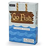 Go Fish Illustrated Card Game | Classic, Vintage Kids Playing Card Game with Vibrant, Colorful Storybook Illustrations | Learning Activity for Critical Thinking, Strategy, and Problem Solving