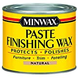 Minwax 785004444 Paste Finishing Wax, 1-Pound, Natural