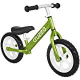 Cruzee Ultralite Balance Bike (4.4 lbs) for Ages 1.5 to 5 Years | Green - Best Sport Push Bicycle for 2, 3, 4 Year Old Boys & Girls- Toddlers & Kids Skip Tricycles on The Lightest First Bike