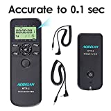 AODELAN WTR2 Camera Wireless Shutter Release Timer Remote Controlfor for Canon EOS R, 80D, 77D, 70D, 60D, 800D, 200D,7D Series, 5D Series,T7,T7i, T6, T6i,T5i, PowerShot SX70H; Replace TC-80N3 & RS-60