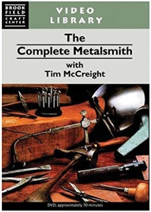 The Complete Metalsmith DVD with Tim McCreight Educational Video Jeweler's Metalsmithing Metal Forming Bench Casting Techniques