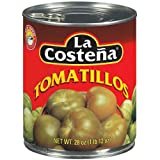 Whole Tomatillos in Can 28oz No Preservatives 1 Can