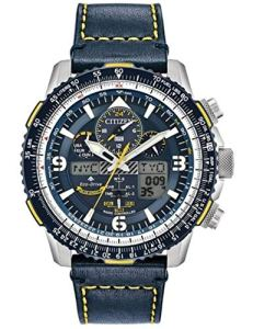 Citizen Watches Men's JY8078-01L Promaster Skyhawk A-T Blue One Size