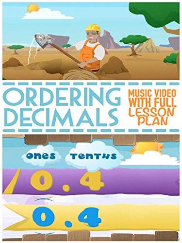 Ordering Decimals Song For Kids: Rounding and Comparing with Place Value