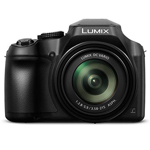 PANASONIC LUMIX FZ80 4K 60X Zoom Camera, 18.1 Megapixels, DC VARIO 20-1200mm Lens, F2.8-5.9, 4K 30p Video, Power O.I.S., WiFi – DC-FZ80K (USA BLACK)