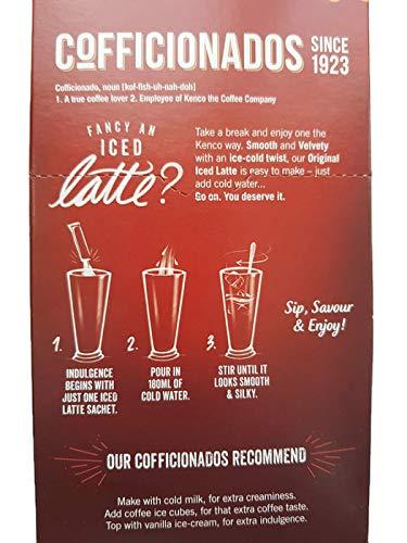 Kenco Original Iced Latte Coffee 2 Pack Bundle