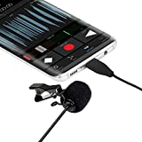 BOYA USB-C Type Omnidirectional Lavalier Microphone, Android Mic with Easy Clip on System Perfect for Recording YouTube/Interview/Video Conference/Podcast/Rap