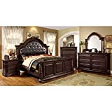 Product review for Esperia English Style Brown Cherry Finish Queen Size 6-Piece Bedroom Set