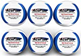 AcuPlus Pain Relief Bath Bomb Formula - Advanced Therapy For Pain Relief & Recovery from Bursitis, Arthritis, Tendonitis, Muscle Aches, and Body Pain (4.5 ounce Bath Bomb 6 Pack)
