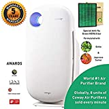 Coway Sleek Pro AP-1009 Air Purifier (Pre Filter, Patented Urethane Carbon Filter & True HEPA Filter)