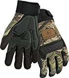 West Chester John Deere JD00011 Anti-Vibration High Dexterity Synthetic Leather Palm Knuckle Work Gloves: Camo, X-Large, 1 Pair
