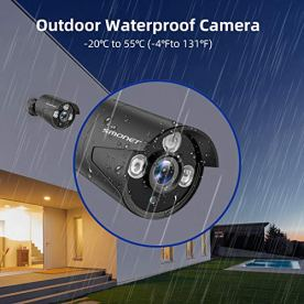 2021-NEW5MP-Security-Camera-System8-Channel-Complete-Surveillance-Systems4pcs-5MP2560TVL25x1080P-Wired-Indoor-Outdoor-Bullet-Cameras-for-HomeWaterproofP2PNight-VisionRemote-AccessNO-HDD