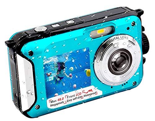 Underwater-Camera-FHD-27K-48-MP-Waterproof-Digital-Camera-Selfie-Dual-Screen-Full-Color-LCD-Displays-Waterproof-Digital-Camera-for-Snorkeling-806BC