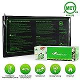 MET certified Seedling Heat Mat, Seedfactor Waterproof Durable Germination Station Heat Mat, Warm Hydroponic Heating Pad for Indoor Home Gardening Seed Starter(10' x 20')