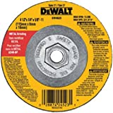 DEWALT DW4523 4-1/2-Inch X 1/4-Inch X 5/8-Inch General Purpose Metal Grinding Wheel