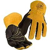 Welding Gloves, Pigskin, M, 12-1/2inL, PR