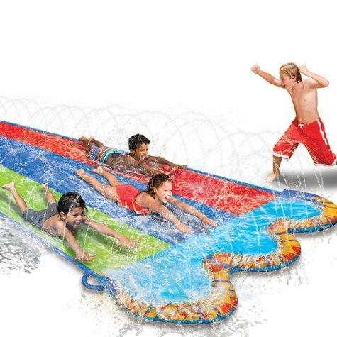Banzai Triple Racer Water Slide