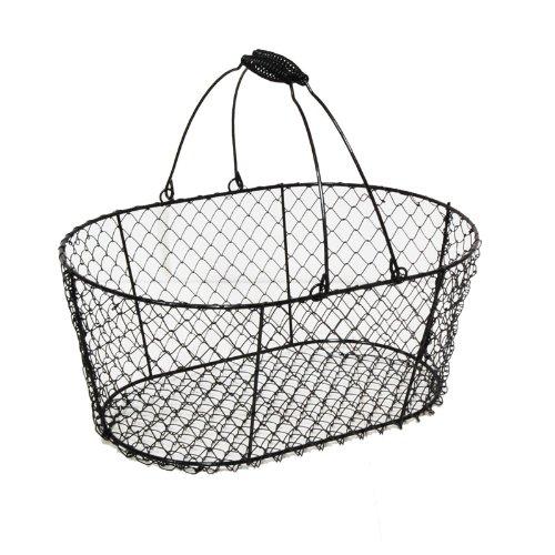 Oblong Wire Basket
