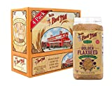 Bob's Red Mill Organic Whole Golden Flaxseed, 24 Oz (4 Pack)