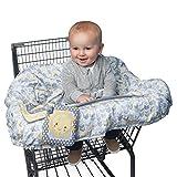 Boppy Shopping Cart Cover, Sunshine/Gray