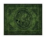 Sarong, Celtic - Fairy, Assorted Dark Green Shades Only, Gift