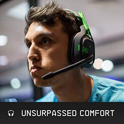ASTRO Gaming A50 Wireless Dolby Gaming Headset - Black/Green - Xbox One + PC (Renewed) 16