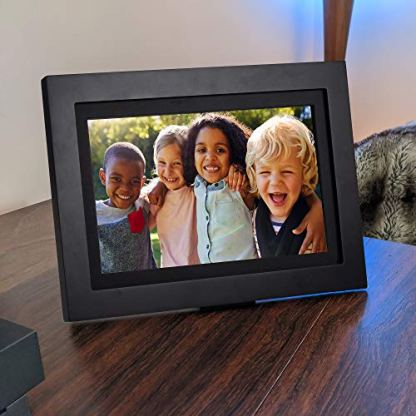SimplySmart-Home-PhotoShare-Friends-and-Family-Smart-Frame-Digital-Photo-Frame-Send-Pics-from-Phone-to-Frame-WiFi-8-GB-Holds-Over-5000-Photos-HD-1080P-iOS-Android-14-Black