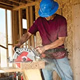 Skilsaw Magnesium Sawsquatch Worm Drive Circular Saw - 10 1/4in. 15 Amp, with Electric Brake, Model Number SPT70WM-22