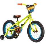 Mongoose 16' Lil Bubba Boys' Fat Tire Bike R0638WM, Neon Yellow