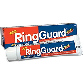 Ring Guard Ringworm Creamathlete Footfungal Backterial Skin Infectioneczema Ring Guard