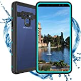ShellBox Compatible for Samsung Galaxy Note 9 Waterproof case,Shockproof Snowproof Fully Sealed Underwater Protective Cover 360 Degree Cellphone Soft Case for Samsung Note 9 (Teal)
