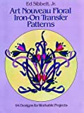 Art Nouveau Floral Iron-on Transfer Patterns