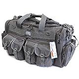 NPUSA Mens Large 30' Inch Gunmetal Grey Duffel Duffle Military Molle Tactical Cargo Gear Shoulder Bag …