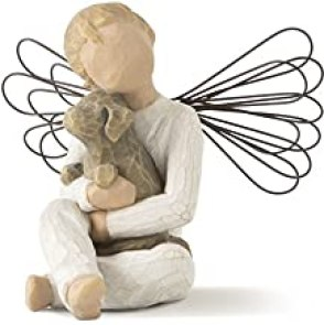 Willow Tree hand-painted sculpted angel, Angel of Comfort