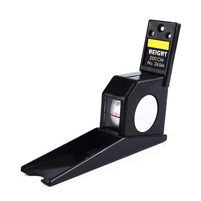 Yosoo 2m/200CM Roll Ruler Wall Mounted Growth Stature Meter Height Tall Measure Measuring Tape