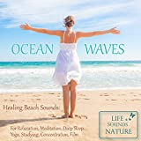 One Hour Of Amazing Beach Sound With Rolling Waves For Relaxation, Deep Sleep, Meditation